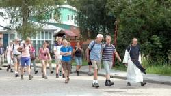 Deelnemers aan de tocht