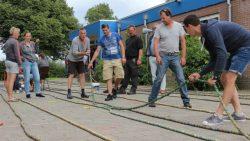 Wereld Record Bierdoppen leggen in Kollumerpomp