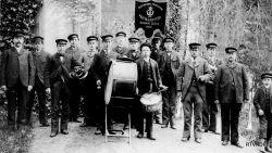Veenklooster Fanfarekorps Fogelsangh, opgericht in 1900