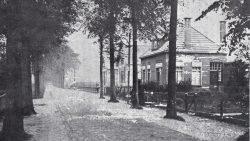 Kollum , de Openbare Lagere School, nog voor de verbouwing in 1921