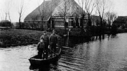 1941 Buurtschap Nijhústerpiip Boerderij van Klaas en Willem Sijtsma