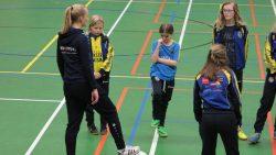 VIOD verzorgde prachtige clinic voor SC Franeker meiden