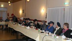 High tea party, op het jaarfeest bij Passage te Kollumerzwaag.