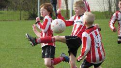 Friese Boys JO9-1 wint met 17-1 van Broekster Wâlden JO9-2