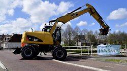 Werkzaamheden Halvemaanspoortbrug Dokkum gestart