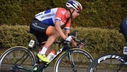 Anouska Koster aan start Amstel Gold Race