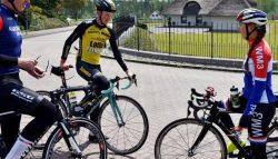 Anouska Koster verkent parcoursen NK tijd - en wegwedstrijd
