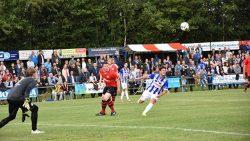 Veel doelpunten bij de wedstrijd Buitenpost tegen Heerenveen