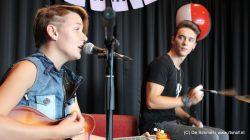 Willemina Hiemstra en Sjoerd Ferwerda spelen live