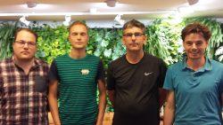 Team Van der Meer debutant op NK Café schaken