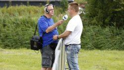 De Simmer van RTV NOF was aanwezig met live radio
