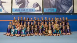 Huldiging prijswinnaars Turn- en Gymsport Dokkum seizoen 2016/2017