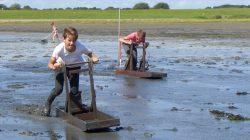 Negende Sliksleekampioenschap op Schiermonnikoog