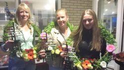 Prijswinnaars dertigste vrijgezellenpartij in Oosternijkerk