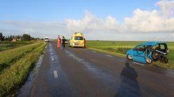 Man gewond bij ongeval Ternaard