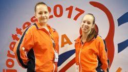 Zilver op het EK voor Emmaly Bakker en Marije Kok