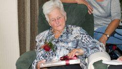 Mevrouw Hansma-Klaarbergen viert haar 100ste verjaardag