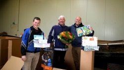 Felicitaties Edukans voor 20 keer verzamelpunt Kollum