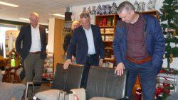 College Dantumadiel brengt werkbezoek aan Stichting Fryslân58