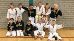 Nieuwe lichting judoka's van Judo Kings in Roden