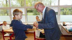 Wethouder Roelof Bos gaf gastles tijdens Week van Respect