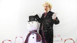 Nieuw kerstliedje van Professor Propkop