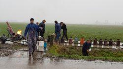 Regen in Oudwoude spelbreker bij het carbidschieten