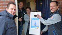 Familie Meinema blij met waterontharder Rensma