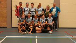 Vroege kampioenswedstrijd Kwiek-Roeken DVC dames 1