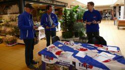 Partijen presenteren zich tijdens Verkiezingsmarkt Dantumadiel