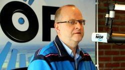 Feike Kooistra, coördinator van het Lichtpunt in Kollumerzwaag