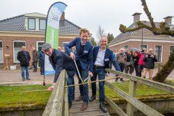 Nieuw Streekpad Noardlike Fryske Wâlden feestelijk geopend