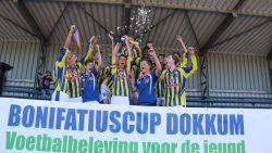 Be Quick Dokkum en VV Kollum pakken Bonifatiuscups 2018