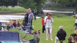 Jeugdviswedstrijd in Dokkum