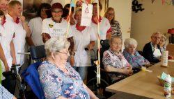 Saakje Krist na 45 jaar in de zorg met pensioen