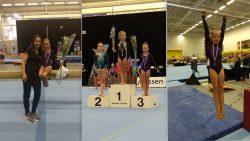 Janne Arjaans tweemaal brons op het NK turnen