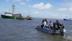 Moddergat bruist tijdens de 'Dei fan de Fiskerij'