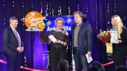 Actrice Anke Bijlsma te gast in De Simmer fan...