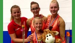 Wardy Kollum Nederlands kampioen.