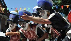Jaarlijkse straatfestival op Ameland