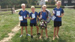 Frysk kampioenskip fierljeppen voor de jeugd gesprongen