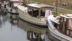 Varend Erfgoed in haven van Kollum
