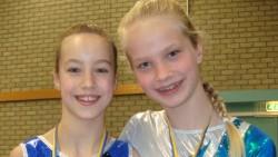Renate Talstra en Renee Fleury behaalden goud en zilver