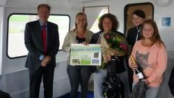 100.000ste passagier voor veerdienst Landal Esonstad - Schiermonnikoog