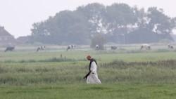 Een monnik als herinnering aan het verleden