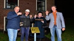 Opening bordjesroute door Holwerd
