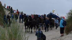 Herdenking verdrinking paarden Ameland