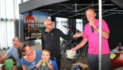 Fiets-verloting van de Lauwersland Fietsvierdaagse Burum