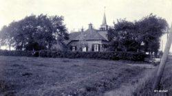 Hantumhuizen Fennewei Pastorie en Gereformeerde kerk