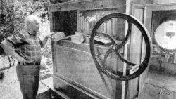 De Westereen, Tjeerd van der Galiën met zijn draaiorgel